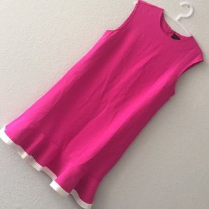 Hot pink Victoria Beckham dress